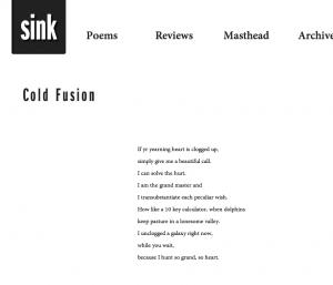 SinkColdFusion