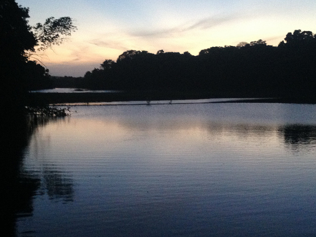 Good night, Lake Gatun