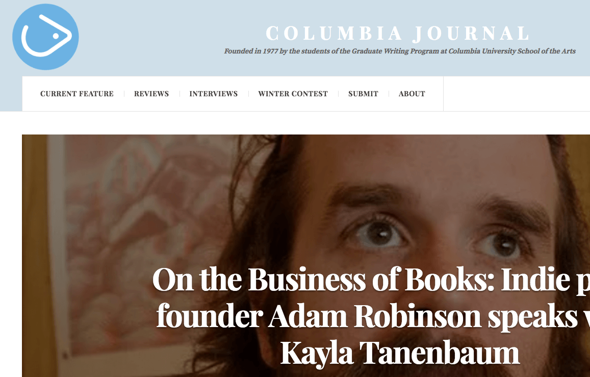An Interview at Columbia Journal